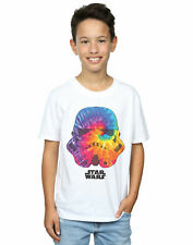 Star Wars Jungen Stormtrooper Saturn Helmet T-Shirt
