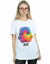 Star Wars Damen Stormtrooper Saturn Helmet Boyfriend Fit T-Shirt