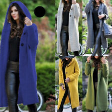 Plus Size Coat Womens Sweater Casual Long Sleeve Knitted Outwear Cardigan Jacket