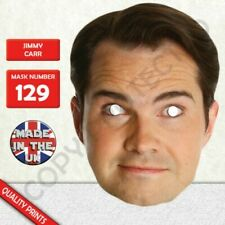 Jimmy Carr Celebrity Card Face Mask Made In The UK Fast Dispatch