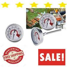 Bbq Thermometer Gauge Wireless Probe Meat Grill Smoker For Instant Food With NEW