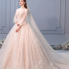 2019 Lace Wedding Dresses Sweetheart Appliques Lace Up Back Bride Wedding Gowns