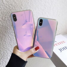Luxury Mirror View Tempered Glass Hard Case Cover For iPhone XS Max XR X 8 7 6s+