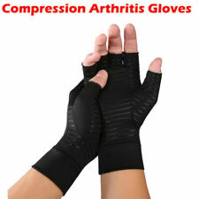 2PC Arthritis Compression Copper Gloves Hand Support Arthritic Joint Pain Relief