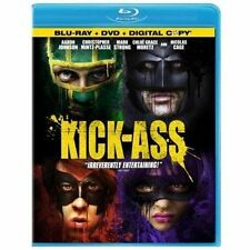 Kick-Ass (Blu-ray/Dvd) only with original case and cover.