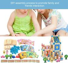 Wooden Puzzle Building Blocks Kids Educational Toys Math Board Digital Maze Game