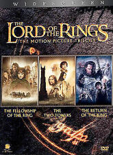 The Lord of the Rings: The Motion Picture Trilogy (DVD, 2004, 6-Disc Set) SEALED