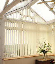 Good Quality Made to Measure Vertical Blinds. (Classic Fabric)