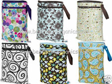 NEW! Planet Wise Reusable Wet/Dry Bag Holds 8-9 diapers