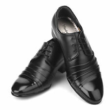 Mens Black Stylish Dress/Casual Lace Shoes All Size