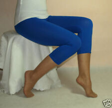 Blue Leggings 3/4 Length ***All Size Variations***