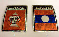 """3x4"" Laos Stickers / Laos Flag / Decal"