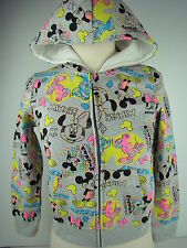 Disney Grey Grils Mickey Minnie Hoodie-1347