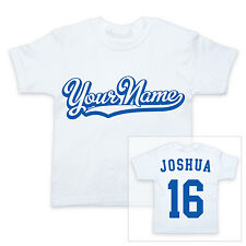 PERSONALISED NAME 2-Sided Sports Baby/Child T-Shirt