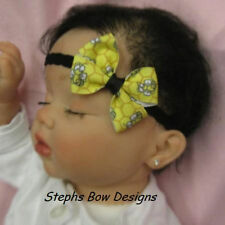 BUMBLEBEE DAINTY HAIR BOW LACE HEADBAND CUTE Bumble BEE for Summer BEEZZZ