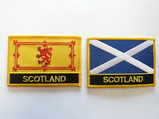 Scotland Lion St. Andrews Patch / Scotland Flag