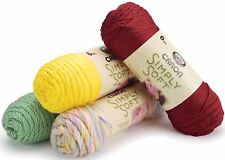 More Caron SIMPLY SOFT Worsted 100% Acrylic Knit Crochet Yarn 6-oz Skeins
