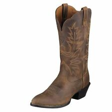Ariat Women's Distressed Brown Heritage R-Toe Boots