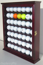 49 Golf Ball Designer Display Case Cabinet Wall Rack Shadow  Box : GB49-