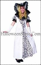 Beautiful Black and White Southern Belle Child Costume