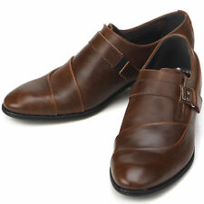 Designer Bando Brown Dress Loafers Mens Shoes All Size