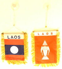 Laos Mini Banner / Laos Flag