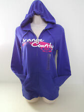 "ROXY WOMENS BLUE ""ORANGE COUNTY"" HOODIE XS & M NWT"