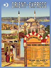 Travel POSTER.Orient Express.Train Delux Decor Art.1812