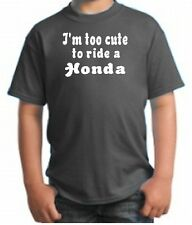 CUTE HONDA HATER KID SHIRT MOTORCYCLE DIRT BIKE FUNNY