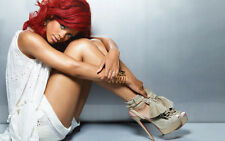 RIHANNA Photo Poster Print Wall Art Large