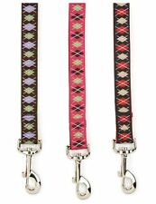 East Side Coll Academy Argyle Dog Leash Lead 4 6  foot