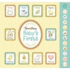 Baby's First Year Record a Voice Memory Sound Keepsake Book Album 10 Pockets 1st