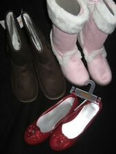 Gymboree Merry Occasions Holiday Traditions PINK BROWN BOOTS or Red SHOES flats