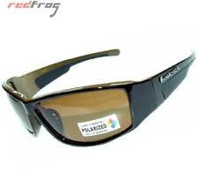 Polarised Polarized Sports Sunglasses Sun Glasses Mens Womens Fashion Black Wrap