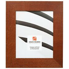 "Craig Frames Marshall Oak, 2"" Dark Brown Oak Hardwood Picture Frame"