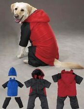 DOG SNOWSUIT SKI JACKET SNOW COAT SUIT w/ REMOVABLE LEGS AND HOOD /HOODED WINTER