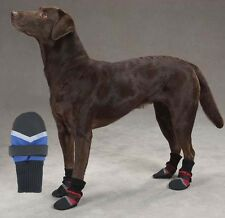 DOG BOOTS Water Repellant Protective Pet Shoes Booties Winter Cold Weather Hot