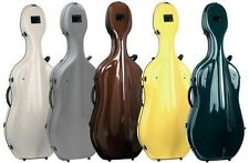 Gewa Idea Futura 4/4 Cello Fibreglass Hard Case, Choice Of Colours