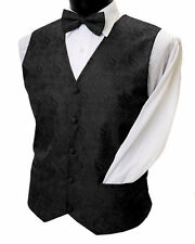 mens Wedding old west vest waistecoat 3 colors to choose from sizes S-XXXL (3X)