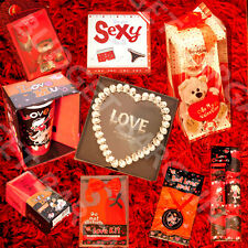 VALENTINES GIFTS, GIFT SETS, MUGS, CARDS, DICE, TEDDIES, NOVELTY ITEMS- I LOVE U