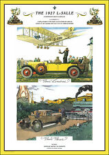 LA SALLE VINTAGE CAR STUNNING ART DECO, LATE 20'sPrint Picture Poster A1