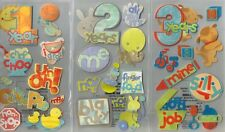 STICKO  Assorted STICKERS Choice Scrapbooking BABY BOY or GIRL  TODDLERS & KIDS