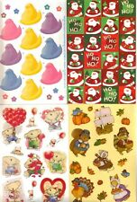 *HOLIDAYS* Sticker Sheets American Greetings Choice EASTER XMAS VALENTINE & more