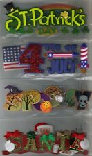TITLEWAVES Jolee's Boutique Assorted STICKERS 3D Choice SCRAPBOOK HOLIDAYS &more