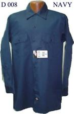 Dickies  Long Sleeve   Navy Blue  Two Pocket  Twill   574 NV   Work Shirt