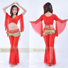 9 color New Sexy Net yarn Pants Belly Dance Costumes