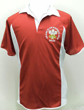 WALES GRAND SLAM TRIPLE CROWN WINNERS 2012 RUGBY STYLE SHIRT NEW  M L XL XXL RED