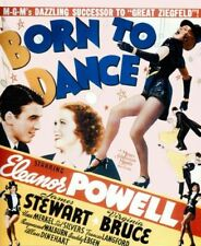 Vintage Old Movie Poster Born To Dance 1936 Print Art A4 A3 A2 A1