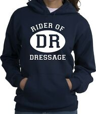 Dressage Sport Horse & Rider Hooded Sweatshirt Multiple Colors & Sizes