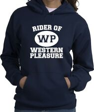 Western Pleasure Sport Horse and Rider Hooded Sweatshirt Multiple Colors & Sizes